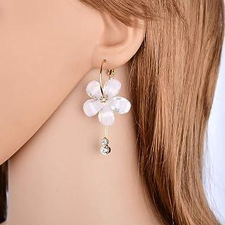 Demana Super Fairy Flower Earrings Temperament Long Tassel Earrings Female Exaggerated Personality Tide Earrings