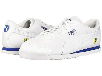 PUMA SF Roma (Puma White/Puma White/Galaxy Blue) Men
