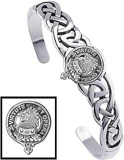 Pentland Clan Celtic Cuff Bracelet