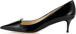 EDEFS - Scarpe da Donna - Tacco Gattino - Mid Heels - Scarpe col Tacco - 6.5cm