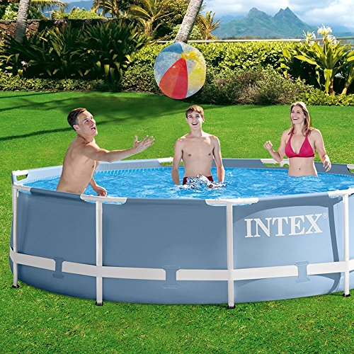 Intex Piscine tubulaire et épurateur MetalFrame 3.05 x 0.76 m