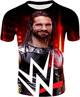Roman Reigns/John Cena/Randy Orton All Kinds of Style 3D Pattern Printed Casual Short Sleeve T-Shirts Tees Adult Youth Unisex