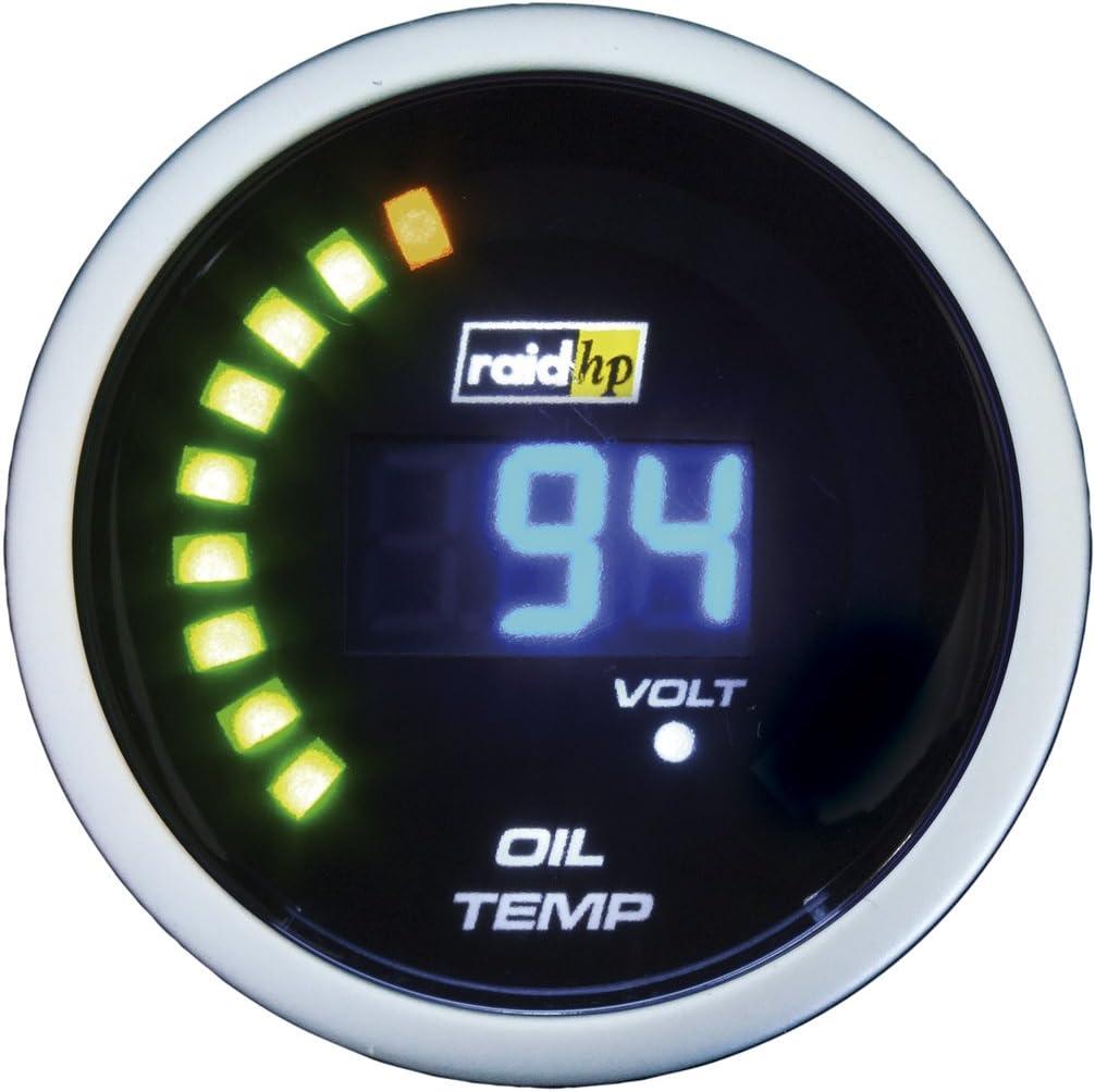 Raid HP Night Department store Flight 660503 Blue Gauge Digital 70% OFF Outlet Temperature Oil