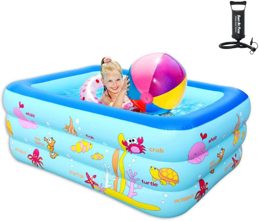 Inflatable Family Swimming At the price of surprise Pool Kids Rectangular Pools Paddling New Shipping Free Shipping
