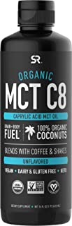 Organic MCT Oil derived from Organic Coconuts | Great in Keto Coffee, Tea, Smoothies & Salad Dressings | Non-GMO Project V...
