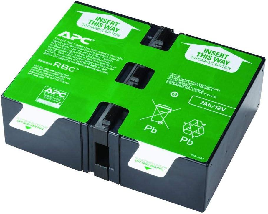 APC UPS Battery Replacement, APCRBC123, for APC UPS Models BR1000G, BX1350M, BN1350G, BX1000G, BX1300G, SMT750RM2U, SMT750RM2UC, SMT750RM2UNC, SMT750RMI2U, SMT750RMI2UC, SMT750RMI2UNC