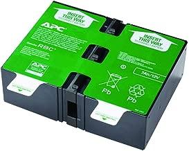 APC APCRBC123 batería de sustitución para UPS, compatible con los modelos BR900GI / SMT750RMI2U y otros
