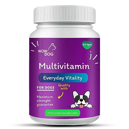 Wowdog Multivitamin Tablet Dog Supplement 60 Pieces
