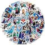 50Pcs Frozen Stickers Waterproof Vinyl Stickers...