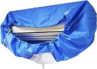 HITECHLIFE Aire Acondicionado Cubierta de Limpieza Bolsa de protección a Prueba de Agua A Prueba de Polvo y antiincrustante Azul Agua