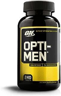 OPTIMUM NUTRITION Opti-Men Daily Multivitamin Supplement, 240 Count