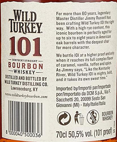 Wild Turkey 101 Bourbon Whiskey (1 x 0.7 l) - 2
