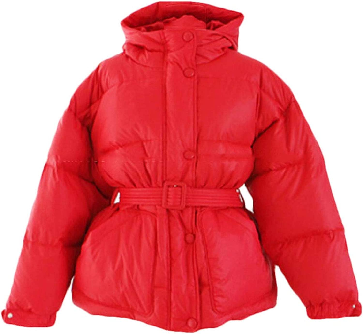 Keaac Women's Warm Parka Quilted Hood Winter Down Coat Down Coat