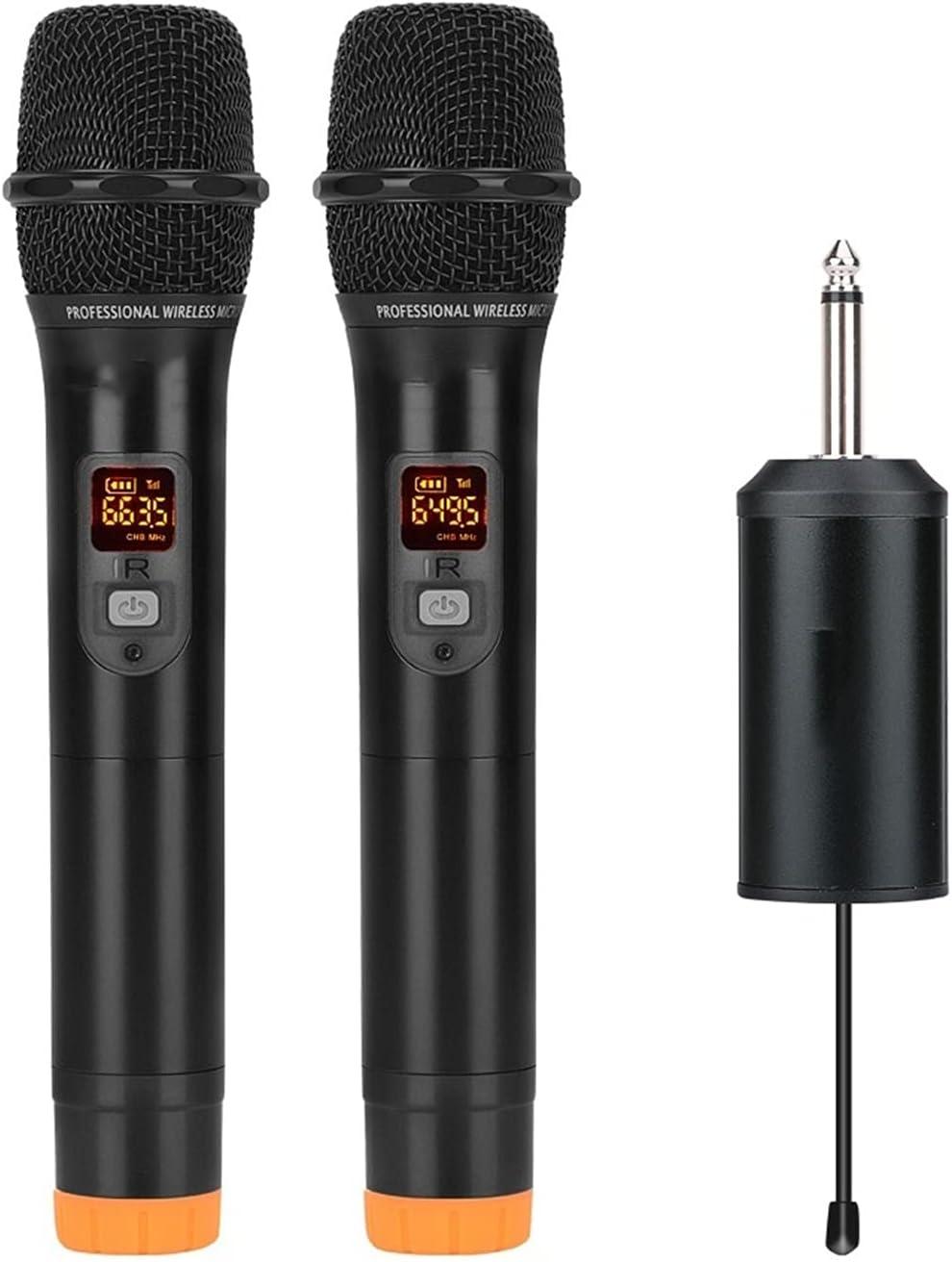 zlw-shop UHF Wireless service Microphone service System Handheld Profe Mic Metal