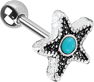 Best starfish helix earring Reviews