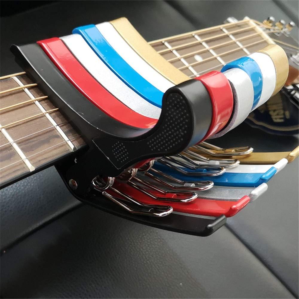 AFCITY Cejilla Guitarra G7 Guitar Capo 7 en Forma Confort y fácil ...