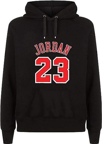Jordan 23 Number Basketball Capucha Hoodie Sudadera Sweater Sweatshirt Camisa De Entrenamiento Cumpleaños