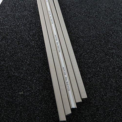 Unbekannt 5X EMVdichtung EmV Dichtung Abschirmdichtungfür Gehäuse 7x7x200mm m. Klebefläche