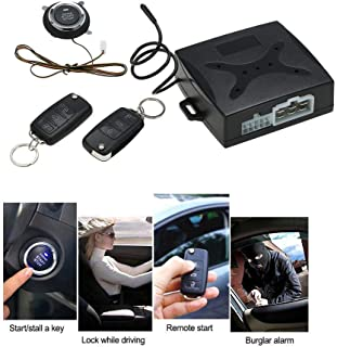Universal Car Alarm Systems Auto Remote Central Kit Door Lock Keyless Entry System Central Locking Smart Induction System/PKE