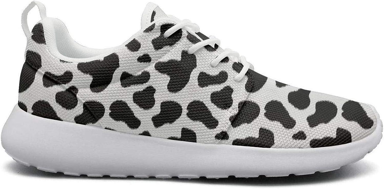 Wuixkas Dalmatian Skin Puppy Dog Womens Lightweight Mesh Sneakers Jogger Tennis shoes
