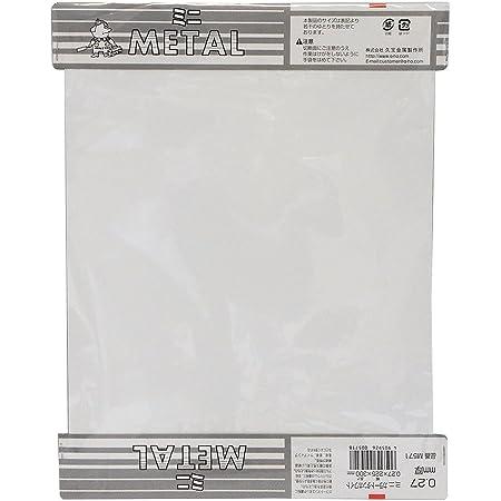 久宝金属製作所 ミニ カラートタン板 ホワイト 厚み0.27X巾225X300mm M571