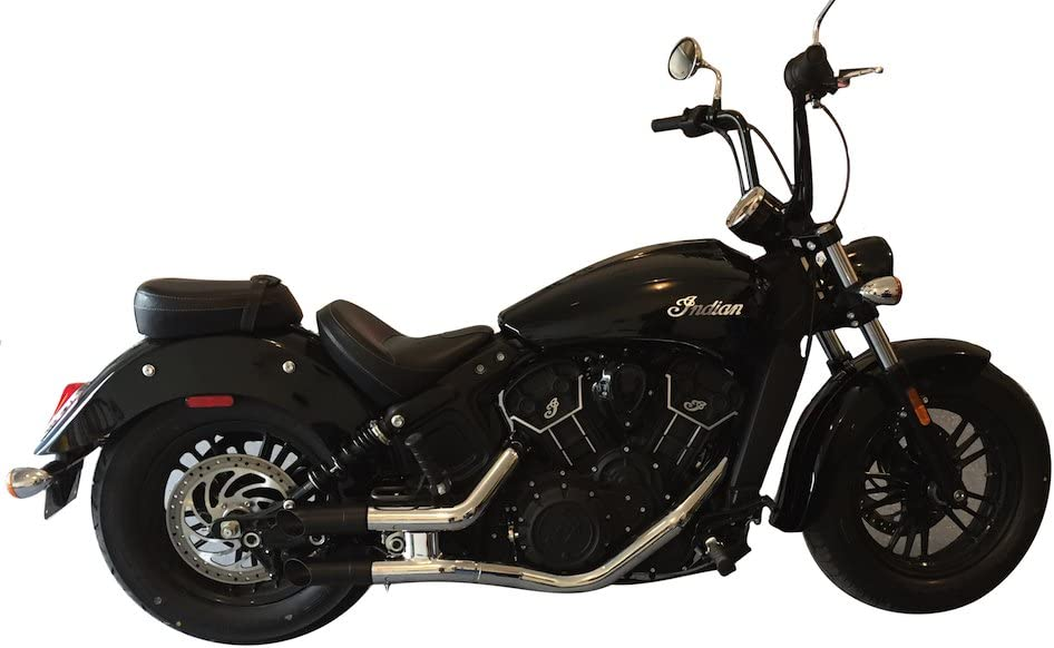 Radiant Cycles Shorty GP Exhaust 2015-2021 Indian Scout for Sixt Challenge the lowest ! Super beauty product restock quality top! price