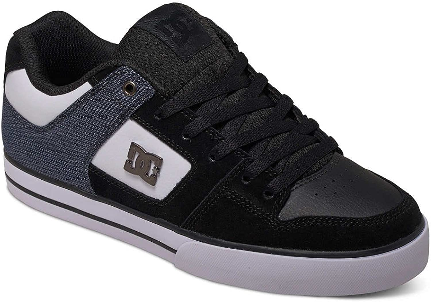 DC shoes Pure Trainers in Black and Grey