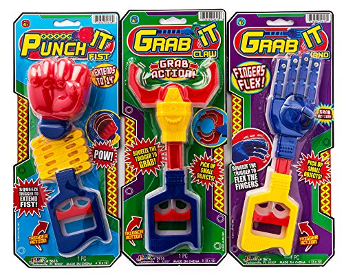 2GoodShop Robot Arms 3 Styles (Pack of 3 Assorted) Item #5616-3