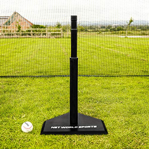 Fortress teleskopische Baseball Abschlag – Verstellbarer Abschlag aus Gummi