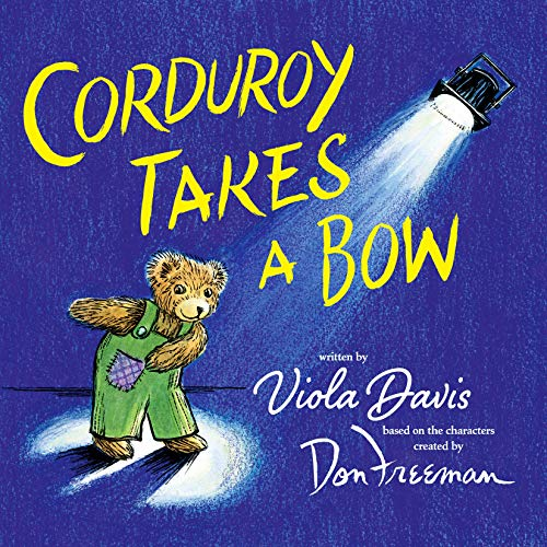 Corduroy Takes a Bow audiobook cover art