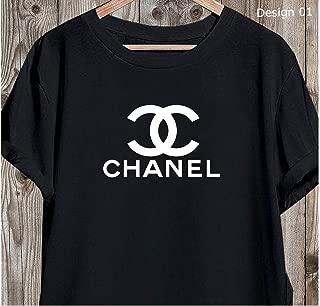 Chanel T Shirt, Chanel Logo Tee Shirts, Chanel Designer Shirt, Coco Chanel T-Shirt For Men Women Unisex Women's Men's Luxury Shirts