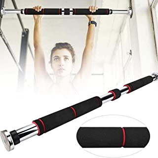 Bestice Pull Up Bar, Doorway Pull Up Sit Up Door Bar Portable Chin-Up for Upper Body Workout Home Fitness, No Screws Easy Installation
