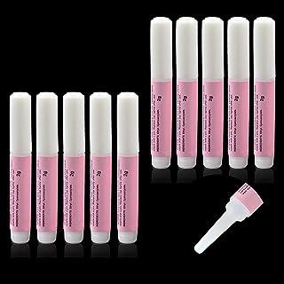 10 pcs 2g Nail Glue Adhesive for Nail Art, Beauties Factory 10 pieces 2 gram Clear Adhesive Glue for False Fake Tips Exten...