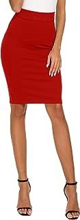 Best red pencil skirt Reviews