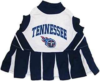 NFL Tennessee Titans Navy Blue-White Pet Cheer Dress