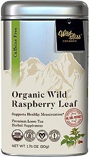 Organic Red Raspberry Leaf Herbal Tea - Loose Leaf – Caffeine Free – Pharmacopoeia Grade Potency - 1.76 Ounces (25 Servings)