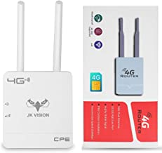 J.K.Vision 4G Router with SIM Card Slot, All SIM Card Supported, Dongle Speed Upto 150 Mbps (JIO, vodafone, Idea, Airtel a...