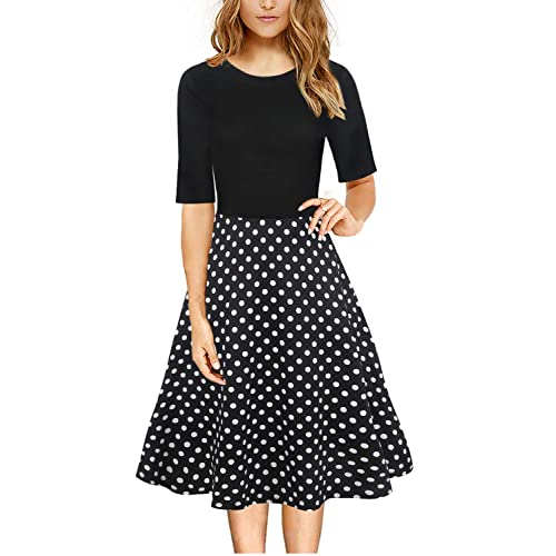 4a4368d4b21e2 HELYO Retro Clothes for Women 1940S 50s Swing Style Work Tunics Special  Occasion Ladies Formal Wear