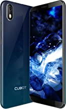 J5 Smartphone Libre 2019 Android 9.0 Teléfono móvil 3G sin contactos Dual Sim + Ranura TF Card 5,5 Pulgadas 16GB ROM 2GB RAM Quad-Core Procesador WiFi GPS 2800mAh CUBOT Oficial Color Aurora