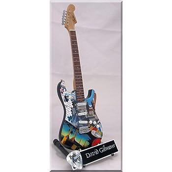 DAVID GILMOUR Guitarra miniatura con púa de guitarra Pink Floyd: Amazon.es: Instrumentos musicales