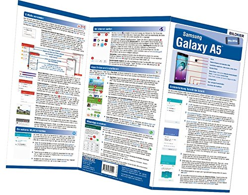 Samsung Galaxy A5 - der leichte Einstieg: Alles auf einen Blick. Besonders für Senioren geeignet (Wo&Wie / Die schnelle Hilfe)
