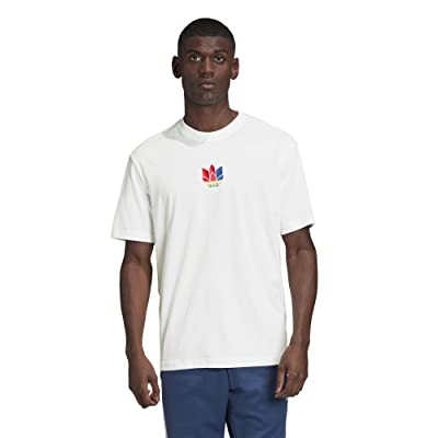 adidas Originals 3D Trefoil Tee (White) Men