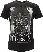 T-Shirt Camiseta Trono DE Hierro Serie de Televisión Juego DE Tronos Game of Thrones - 100% Oficial HBO