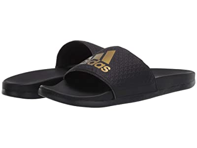 adidas Kids Adilette Comfort (Toddler/Little Kid/Big Kid) (Black/Gold Metallic) Kid