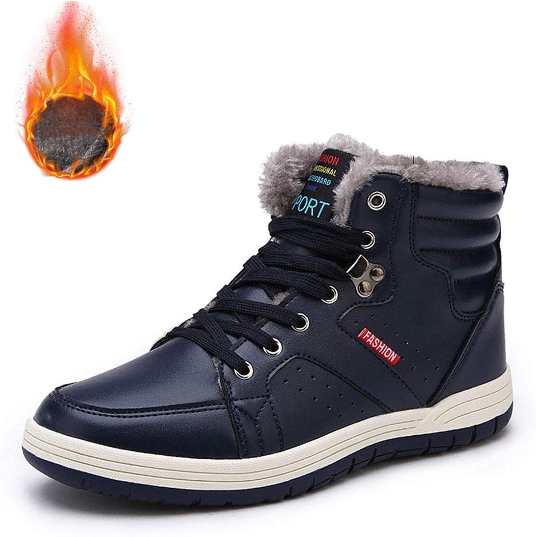 72a1e1549df89 2018 New Men's shoes shoes shoes High-Top Hiking shoes Lace Up Warm ...