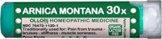 OLLOIS Arnica Montana 30X, Organic Lactose-Free Homeopathic Medicine for Pain Relief