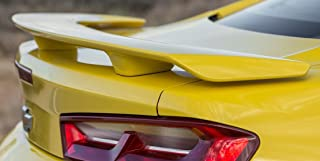 California Dream Works With: 2016-2018 Chevrolet Camaro 3-Post Factory Style Spoiler in the Paint Code of Your Choice (GLOSS BLACK WA8555)