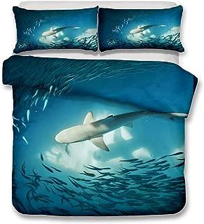 Grand Requin Blanc Interrupteur De Lumière Autocollants Muraux Mer Ocean Requins Chambre à coucher