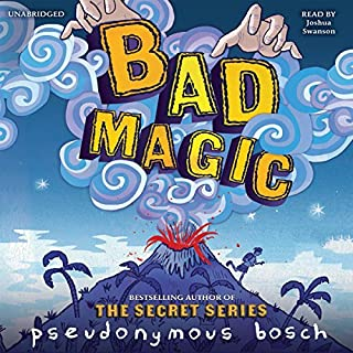 Bad Magic audiobook cover art
