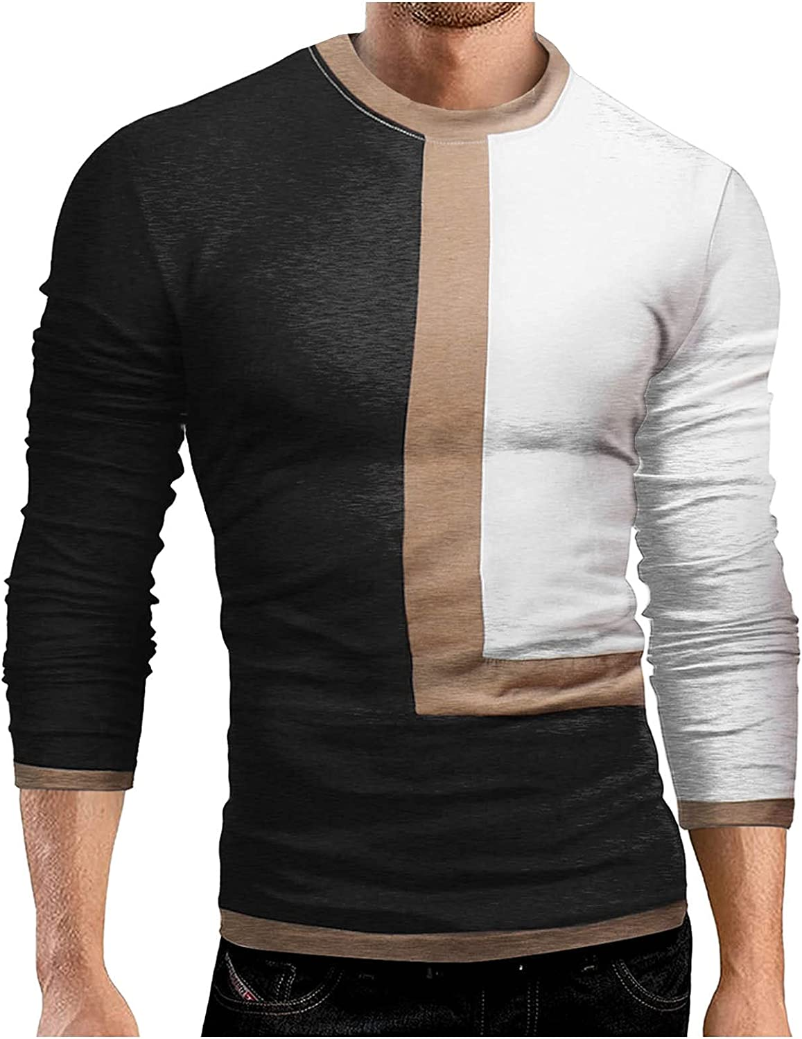 Men's Breathable Sports Shirts Camouflage Tight-fitting Long-sleeved Quick-drying Fitness Tops Casual Slim Fit T-Shirt